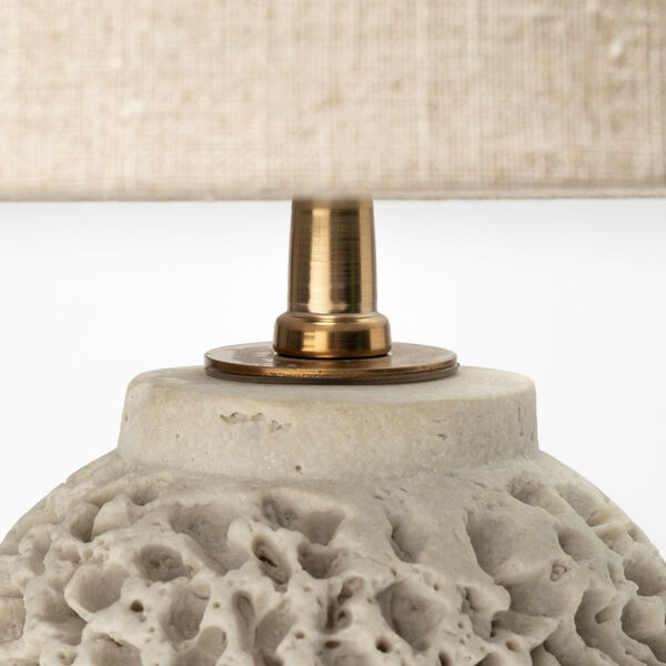 Mariam Beige One-Light Table Lamp, image 4