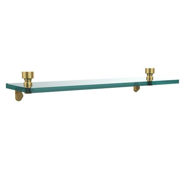 Foxtrot Polished Brass Single Shelf, image 1