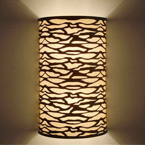 Kato Carbon Black Two-Light Wall Sconce, image 3