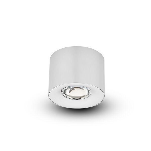 Node Polished Chrome 12W LED Flush Mounted Downlight, image 3