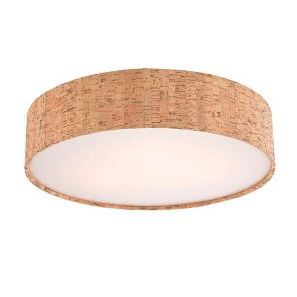 Natural 13-Inch Recessed Light Shade, image 1