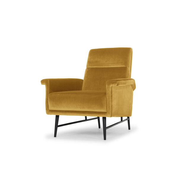 Mathise Mustard and Black Occasional Chair, image 4