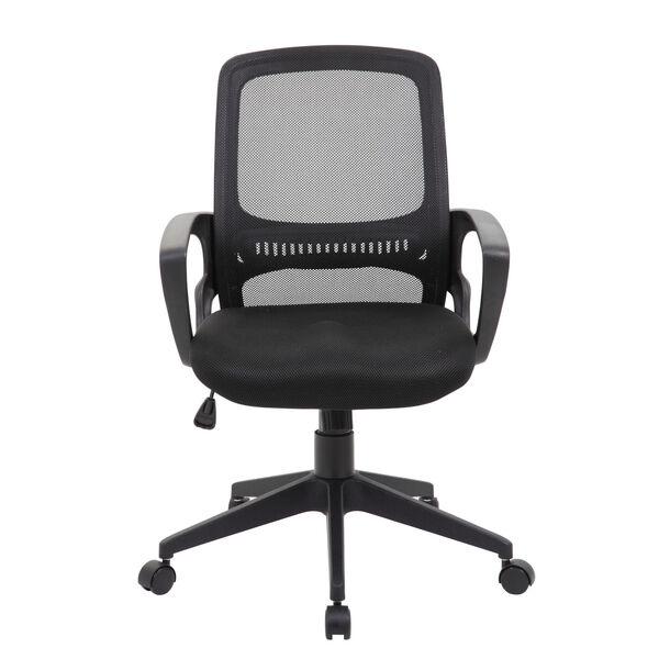 Boss 25-Inch Black Mesh Task Chair, image 3