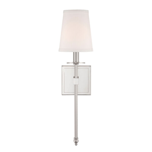 Linden Polished Nickel Five-Inch One-Light Wall Sconce, image 2