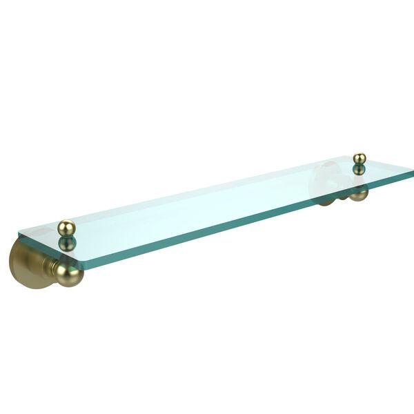 Satin Brass 22-Inch Single Shelf, image 1
