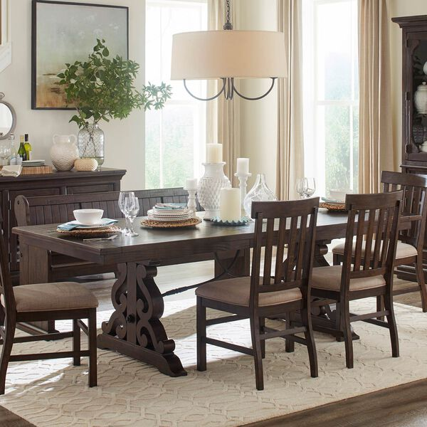 St. Claire Rectangular Dining Table in Rustic Pine, image 2
