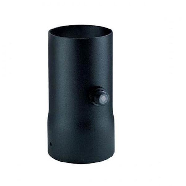 Matte Black Mounting Collar with Photo Sensor Control, image 1