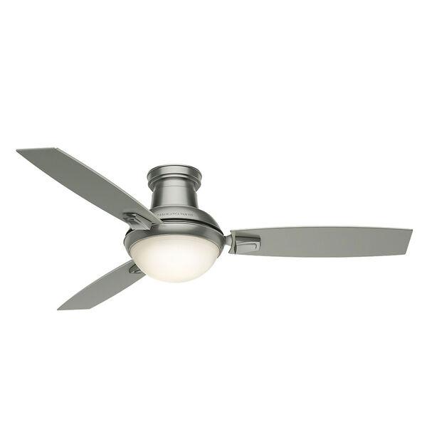 Verse Satin Nickel 54-Inch LED Energy Star Ceiling Fan, image 3