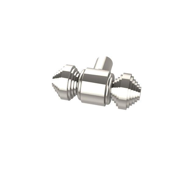 Style SB-10 Polished Nickel Designer Cabinet Knob, image 1