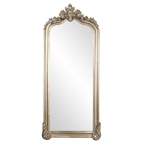 Tudor Silver Floor Mirror, image 2