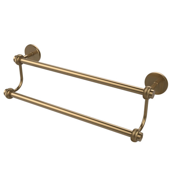 24 Inch Double Towel Bar, Brushed Bronze, image 1