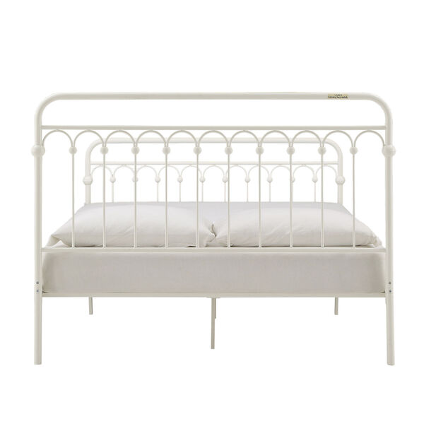 Isobel White Queen Metal Arches Platform Bed, image 6
