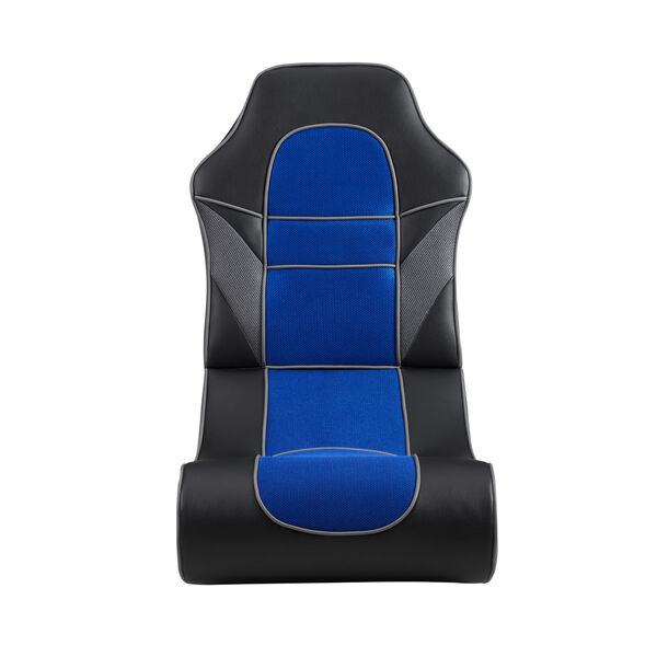 Noah Black and Blue Game Rocking Chair, image 1