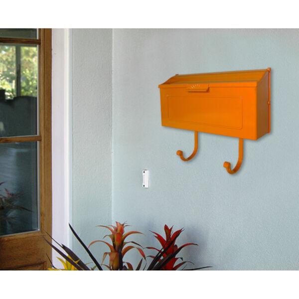 Nash Orange Horizontal Mailbox - (Open Box), image 4