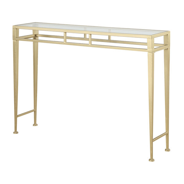 Monroe Gold Console Table, image 1