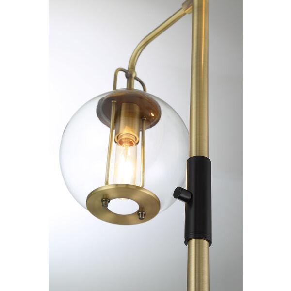 Kaira Black Three-Light Floor Lamp, image 2
