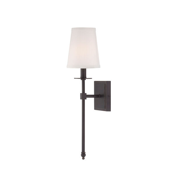 Monroe Bronze One-Light 5-Inch Wide Wall Sconce, image 1