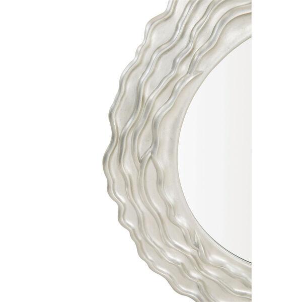 Silver Calista Round Mirror, image 2