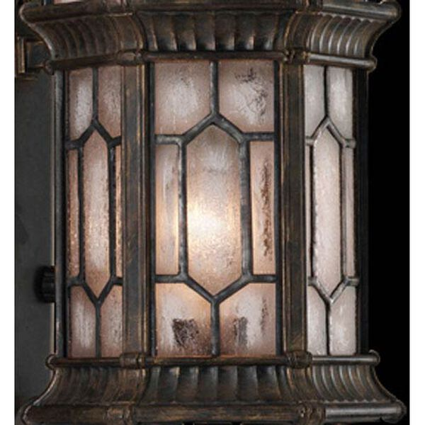 Devonshire One-Light Outdoor Wall Mount in Antiqued Bronze Finish, image 3