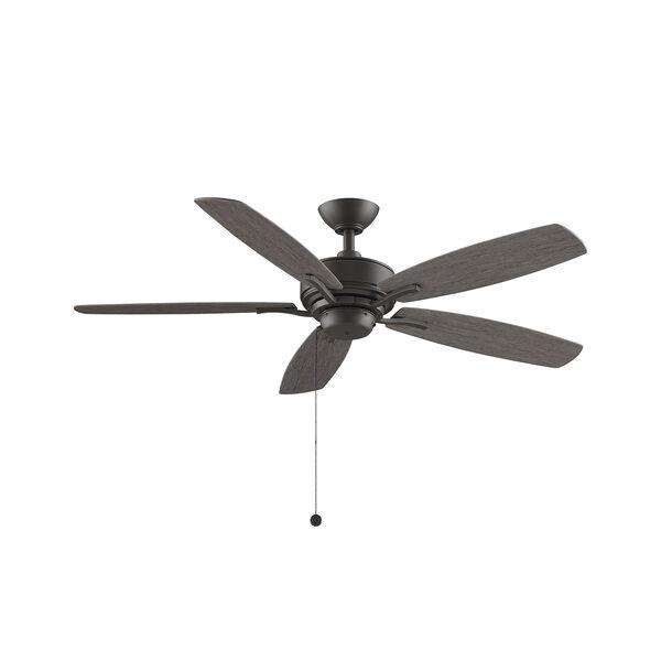 Aire Deluxe Matte Greige Ceiling Fan, image 1