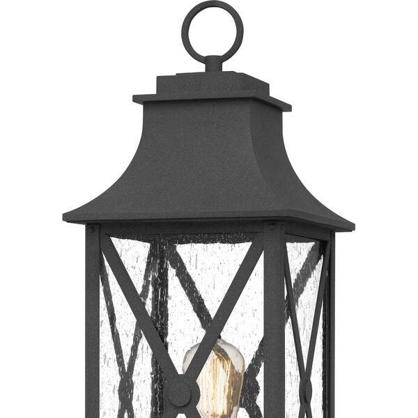 Ellerbee Mottled Black One-Light Outdoor Post Mount, image 5