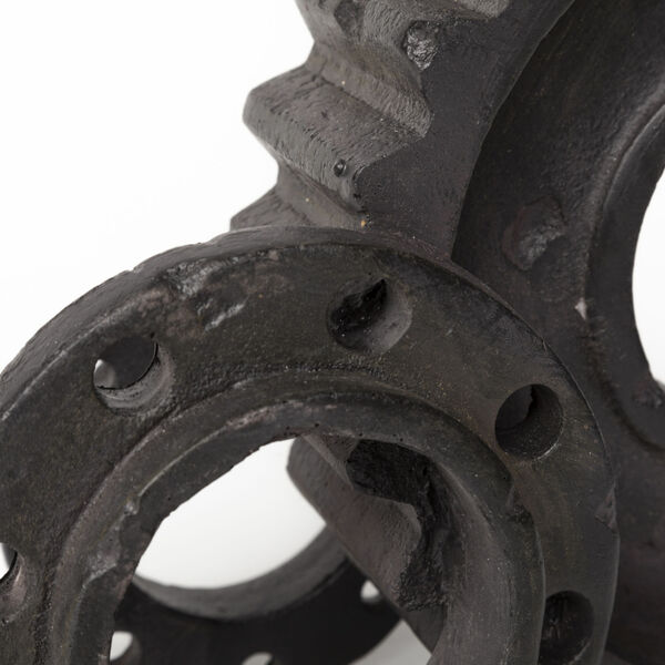 Cogsworth Black Gear Bookend, image 3