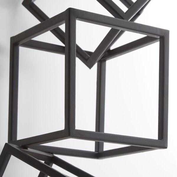 Black Cubed Tree Wall Art, image 2
