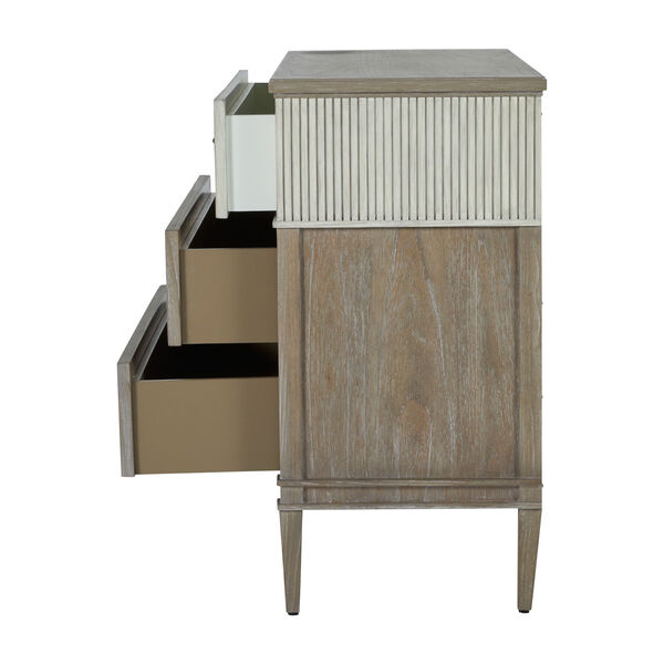 Winslet Sesame White and Cerused Gray Chest, image 6
