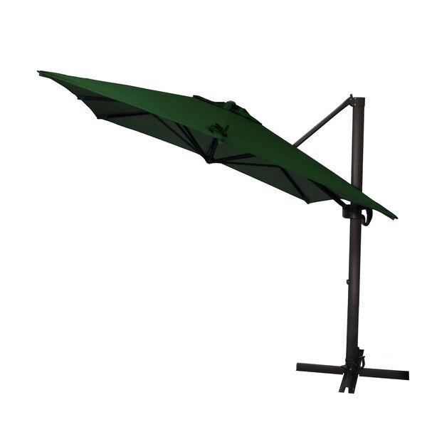 Cali Bronze with Forest Green Nine-Feet Sunbrella Patio Umbrella, image 2