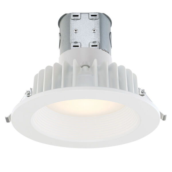 White 13W 2700K 895 Lumen LED Recessed Light, image 1