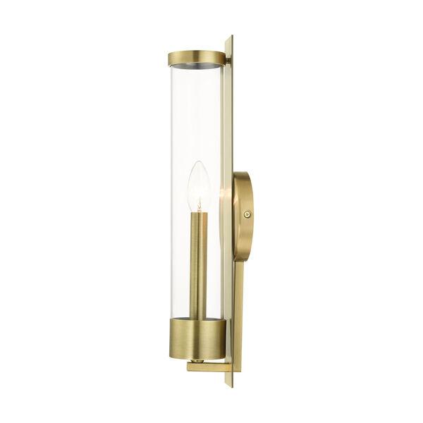 Castleton Antique Brass One-Light ADA Wall Sconce, image 6