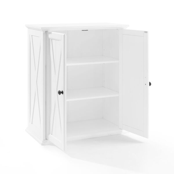 Clifton Distressed White Stackable Kitchen Pantry, image 5