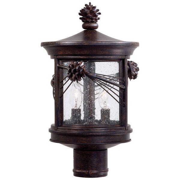Abbey Lane Outdoor Post-Mounted Lantern, image 1