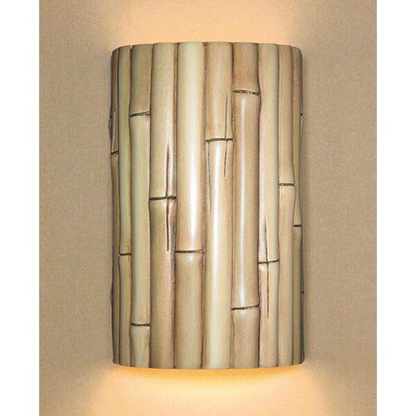 Bamboo Natural Wall Sconce, image 1