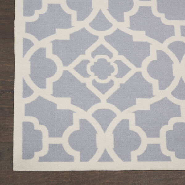 Sun and Shade Gray Indoor/Outdoor Area Rug, image 4