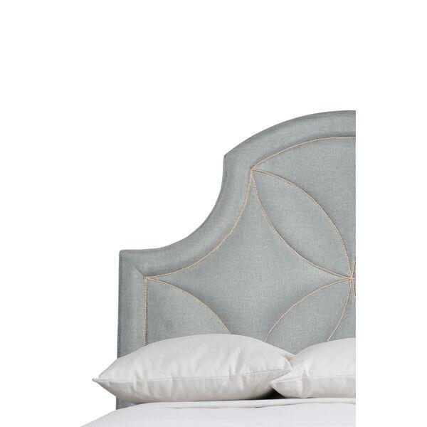 Silken Pearl Calista Upholstered Bed, image 5