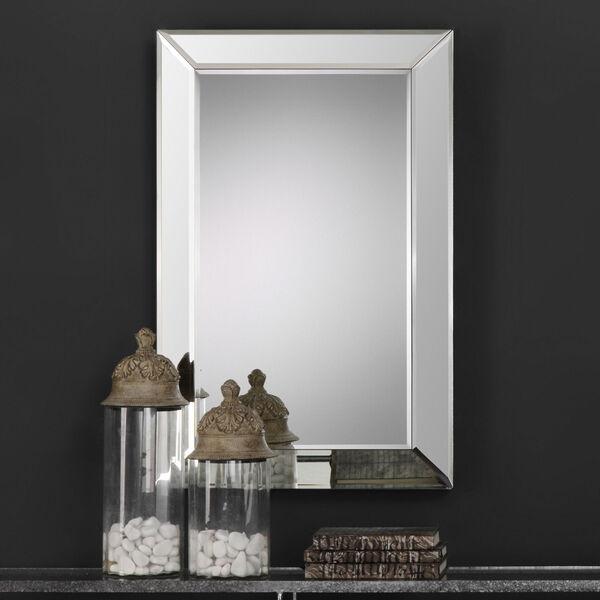 Uptown Rectangular Beveled Mirror, image 1