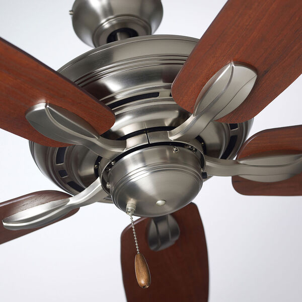 Pro Series Brushed Steel Three Light Ceiling Fan, image 10