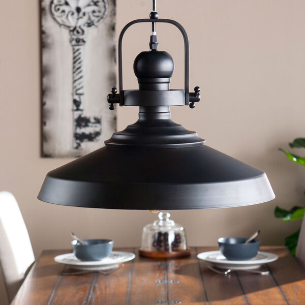 Mindel Industrial Bell Pendant Lamp, image 2