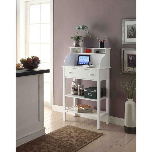 Designs2Go White Storage Desk, image 5