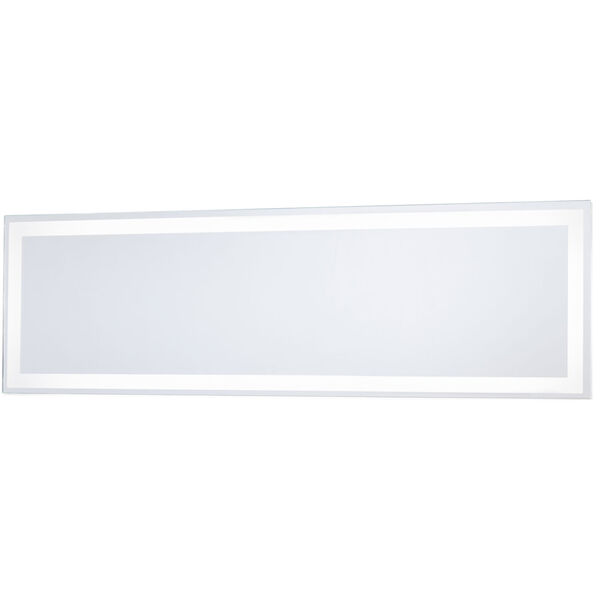 White 24-Inch Rectangle Mirror with LED, image 1