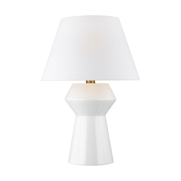 Abaco Arctic White 17-Inch LED Inverted Table Lamp Title 24, image 1