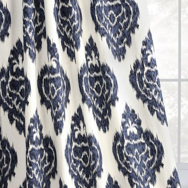 Ikat Multi 50 x 108-Inch Printed Curtain, image 8