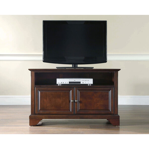 LaFayette 42-Inch TV Stand in Vintage Mahogany Finish, image 5