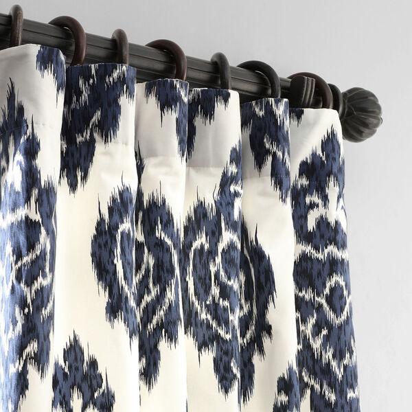 Ikat Multi 50 x 108-Inch Printed Curtain, image 2