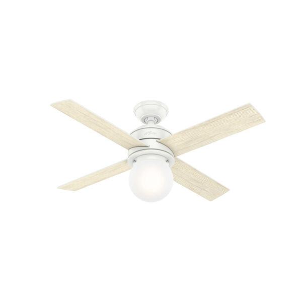 Hepburn Matte White 44-Inch LED Ceiling Fan, image 3