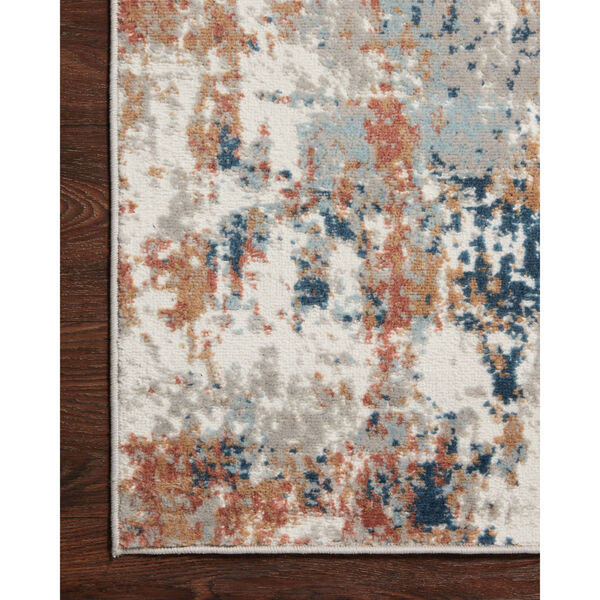 Bianca Ivory, Spice and Blue 9 Ft. 9 In. x 13 Ft. 6 In. Area Rug, image 5