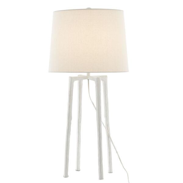 Rowan White One-Light Table Lamp, image 1