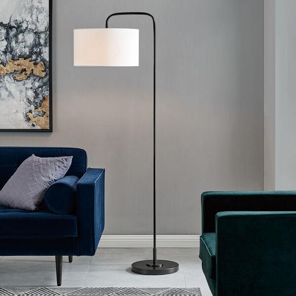 Orea Black One-Light Floor Lamp, image 3