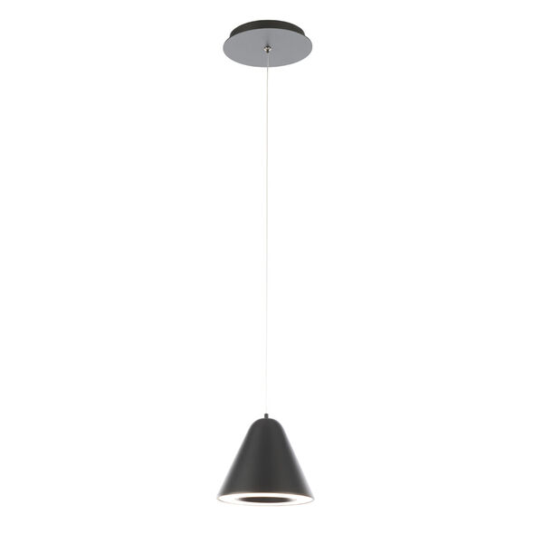 Kone Black LED Mini Pendant, image 2